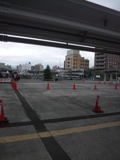 駅前広場?